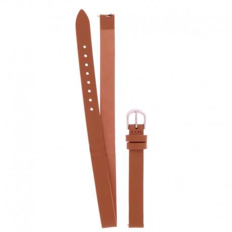 Bracelet Oui Merci pour Ø32mm double cuir tan-SV