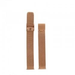 Bracelet Oui Merci pour Ø38mm metal mesh-RG