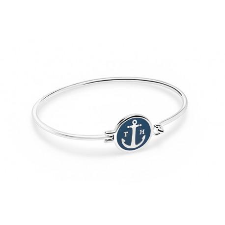 énorme réduction 28d2f 733f3 Bracelet Tom Hope Sapphire Blue, plaque bleue Taille S - ouimerci