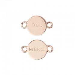 Médaille oui merci ref MC400008, logo 10mm