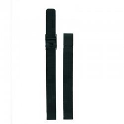 Bracelet Oui Merci pour Ø32mm metal mesh-BK