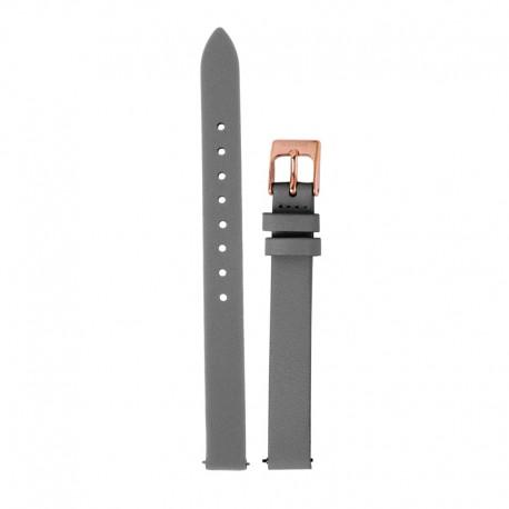 Bracelet Oui & Me pour Ø32mm cuir gris foncé-RG