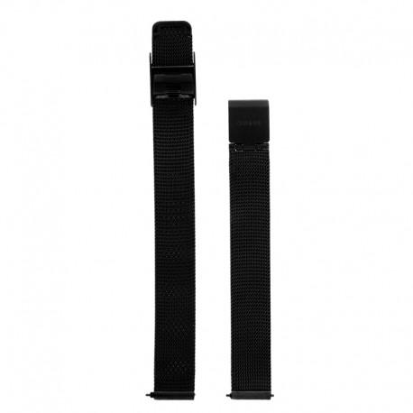 Bracelet Oui & Me pour Ø34mm metal mesh-BK