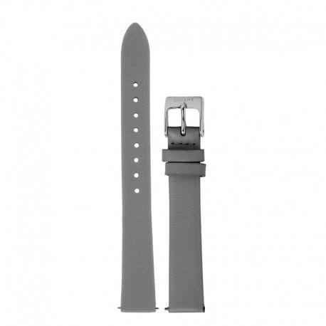 Bracelet Oui & Me pour Ø38mm cuir gris foncé-SV