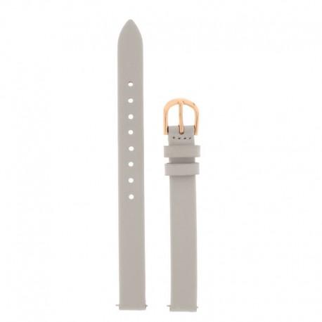 Bracelet Oui & Me pour Ø32mm cuir gris-RG