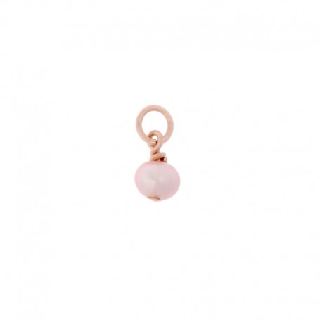 Pampille Oui & Me ref MC040014, perle rose clair, Taille 3mm