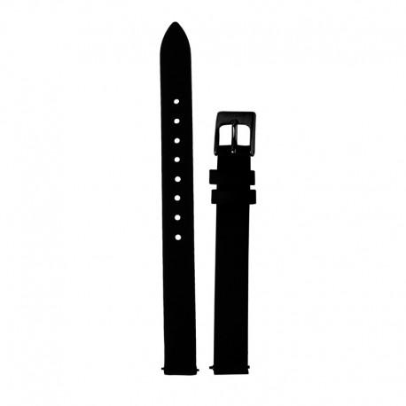 Bracelet Oui & Me pour Ø32mm cuir noir-BK