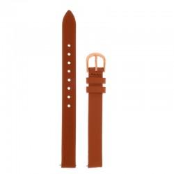 Bracelet Oui & Me pour Ø32mm cuir tan-RG