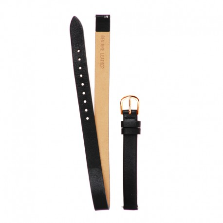 Bracelet Oui & Me pour Ø32mm cuir noir-RG