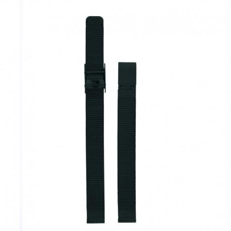Bracelet Oui & Me pour Ø32mm metal mesh-BK