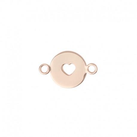 Médaille Oui & Me ref ME400004, cœur 10mm
