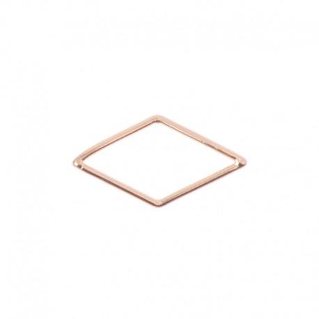 Médaille ajourée Oui & Me ref ME400019, losange