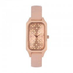 FINETTE 20MM 2H ROSE GOLD DIAL NUDE ST